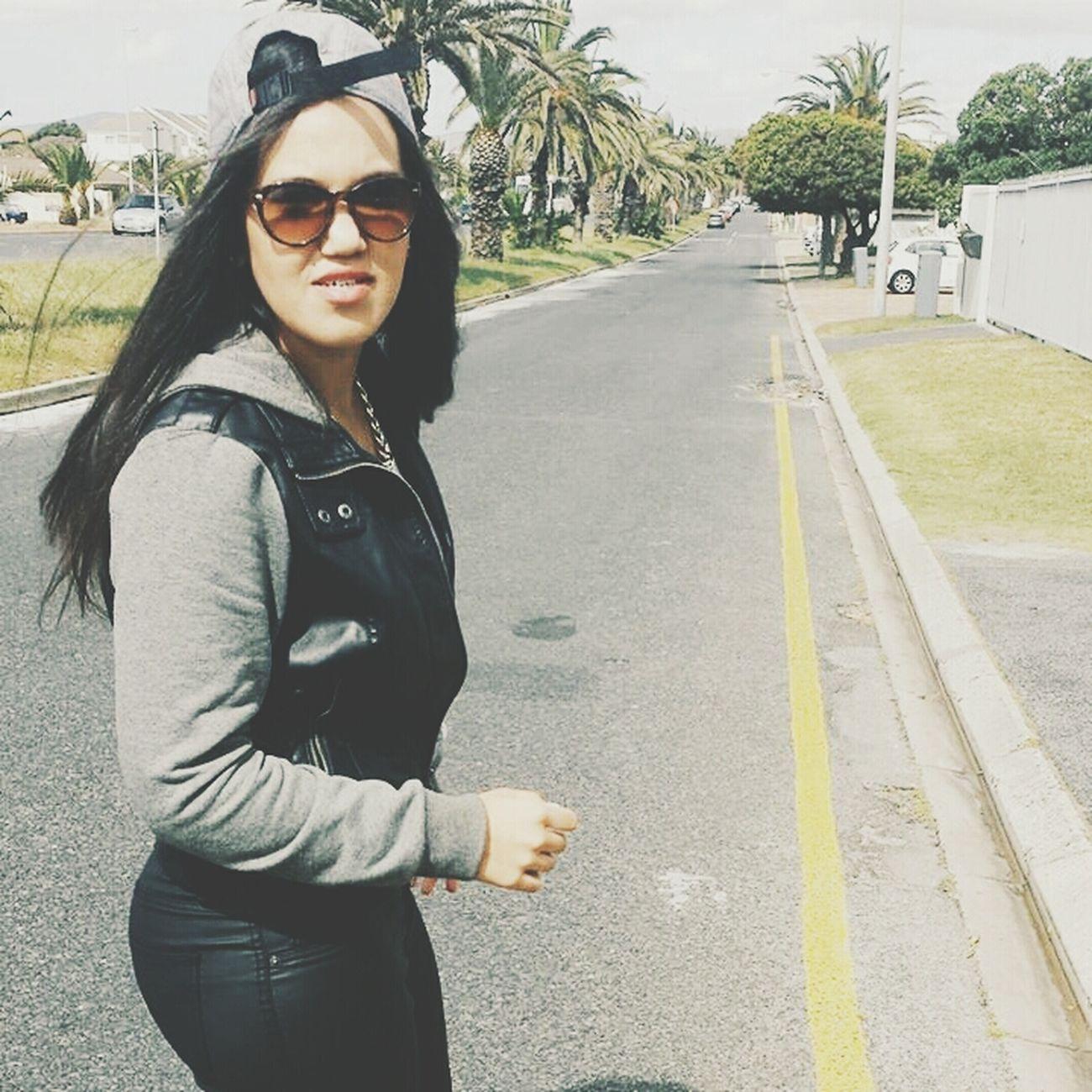 Gangster Gansta Fashion Girl