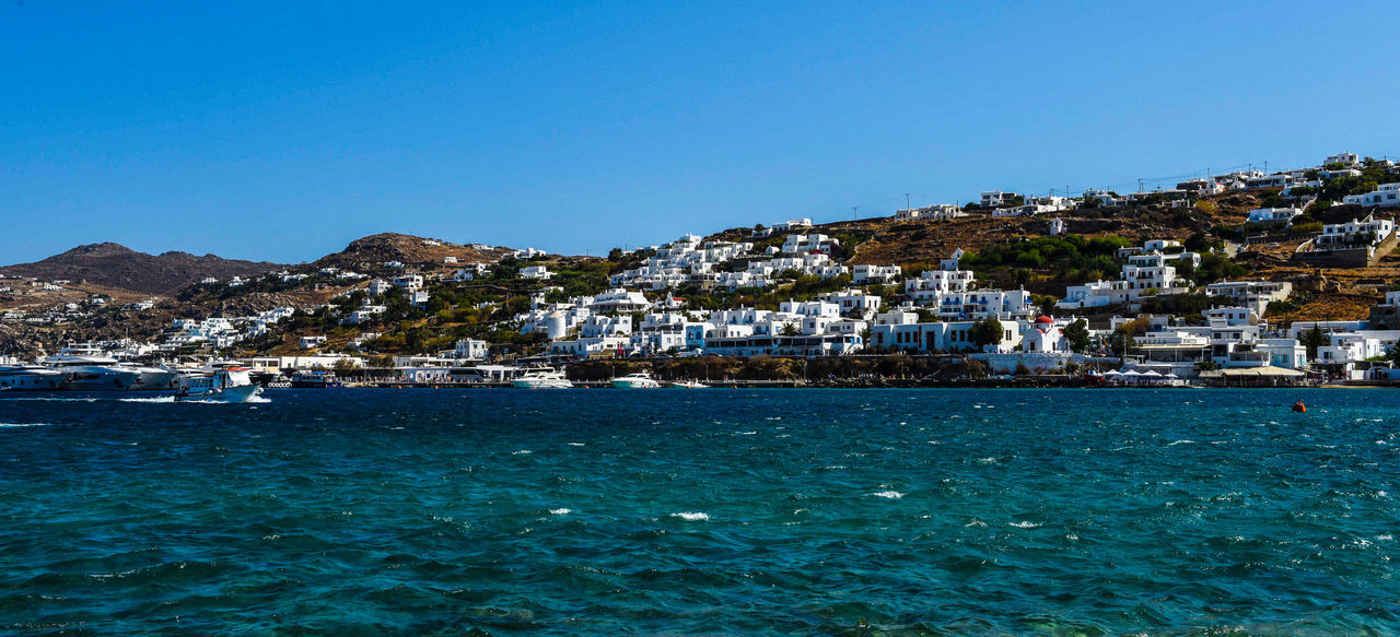 Harbor Mykonos,Greece Architecture Blue Blue Water Blue Water Blue Sky Building Exterior Built Structure Clear Sky Day Go-west-photography.com Greece Harbor Harbor View Kyklades Kyklades Islands Mykonos Nature Outdoors Residential Building Sea Sky Travel Destinations Water White Houses