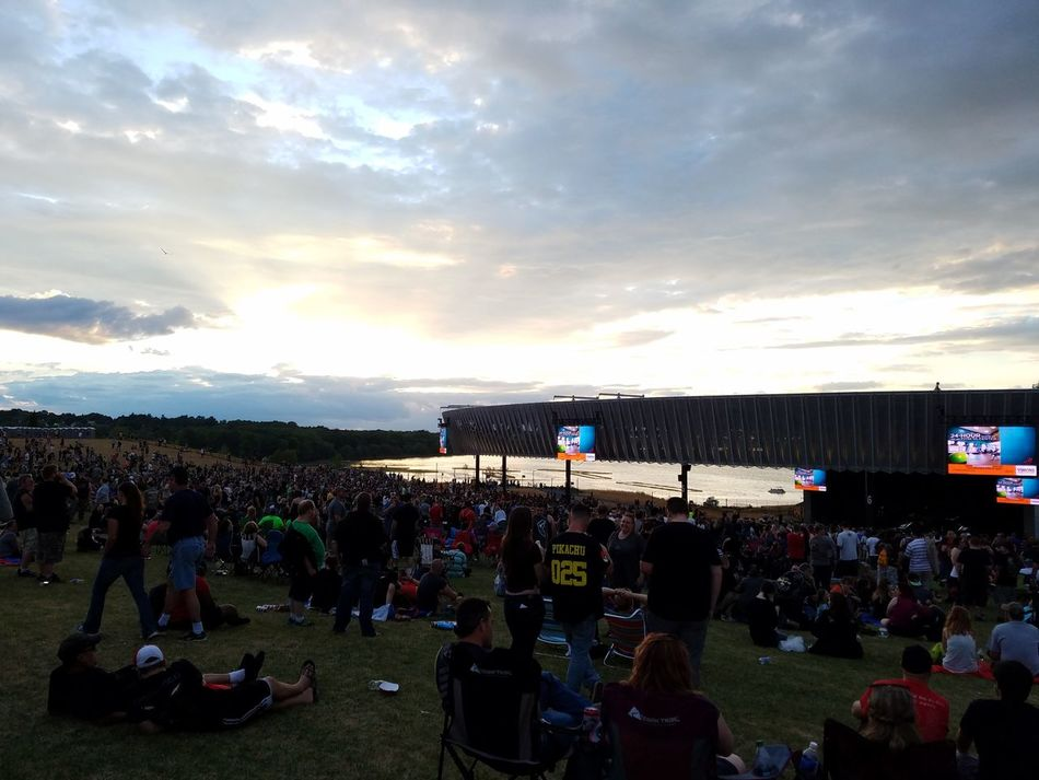 Hanging Out Enjoying Life Landscape Clouds And Sky The Essence Of Summer Capture The Moment Samsungphotography Samsung Galaxy S7 Edge Happy Enjoying Life New York State Concert Rock N Roll Music Syracuse Ny