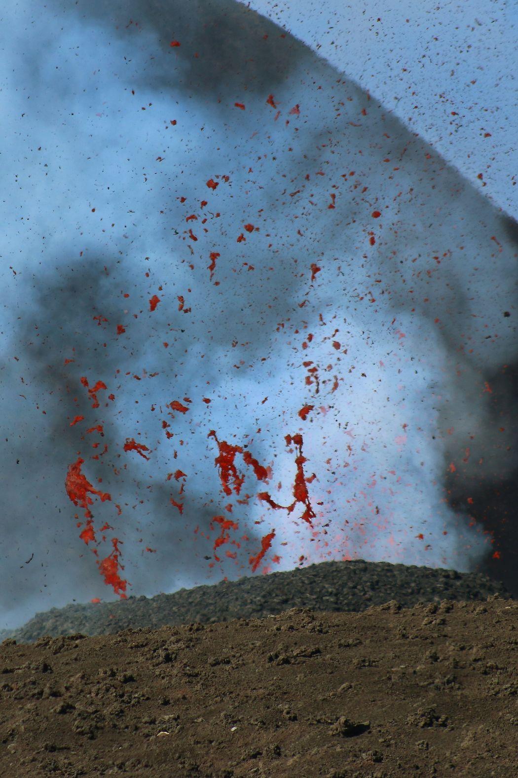 ....boooom Close-up Eruzione Etna Landscape Lapilli Lava Potenza Della Natura Vulcano 565