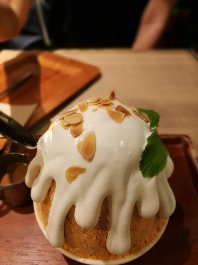 Thai Tea Kakikori Afteryou Thai Milk Tea Dessert sweet ice food