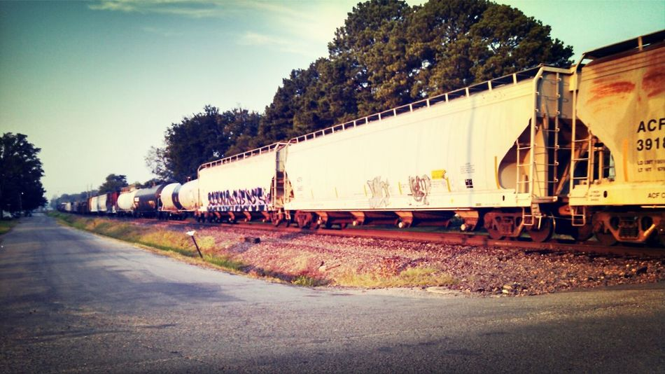 Industrial Train Train Graffiti  Eye For Photography