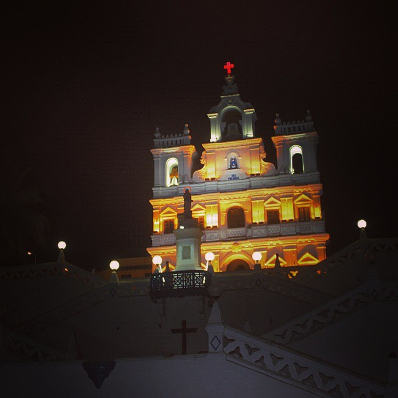 Panjimchurch Indoportuguese Architecture Photooftheday Building Architecture Style City Art Street Geometry Architecturelove Arts Lookingup Geometric City Pattern ArchiTexture Urban Heritage Perspective Abstract Beautiful Instagood Archlove designahd goaIndia mytraveldairies