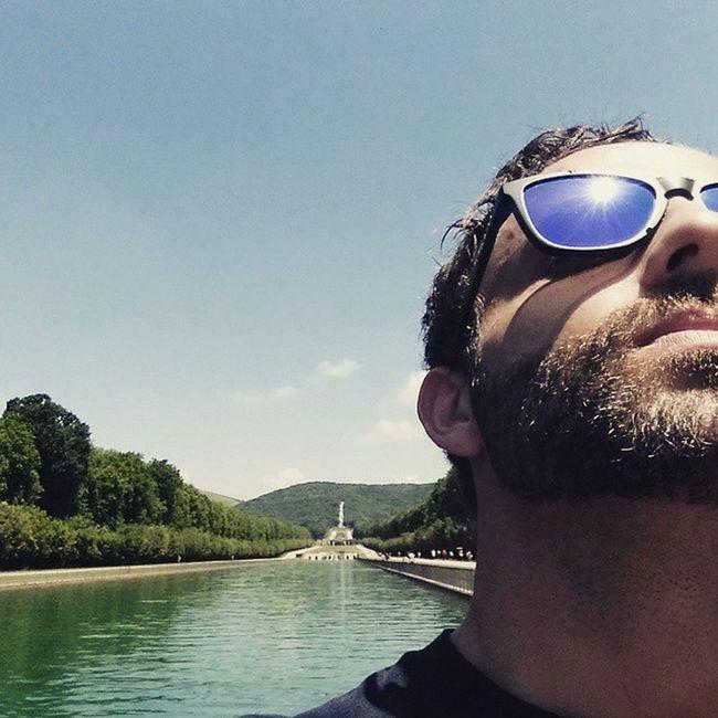 Caserta Reggiadicaserta Reggiacaserta Italy Italia Paesaggio Picture Park Fountain Giardino Me Oakley Sun Sky Kiss Kissfromsun Igers Photooftheday Cool