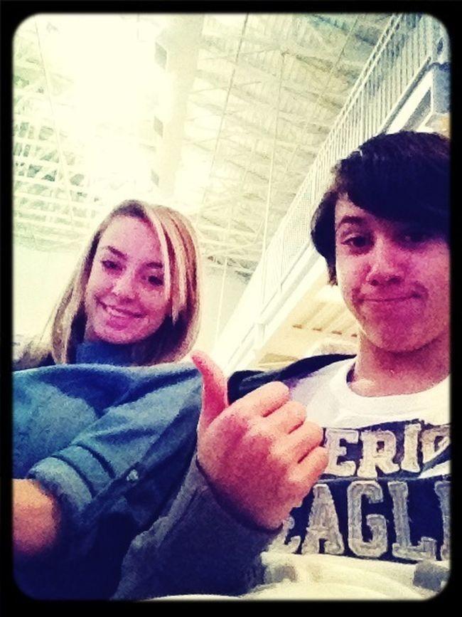 Us at church!!!