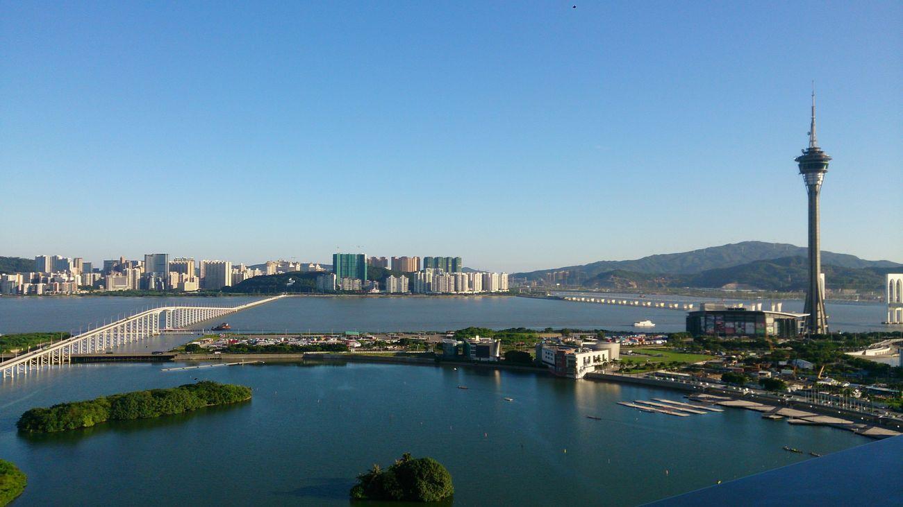 Nice Weather :) Macau Macau Tower Hello World !