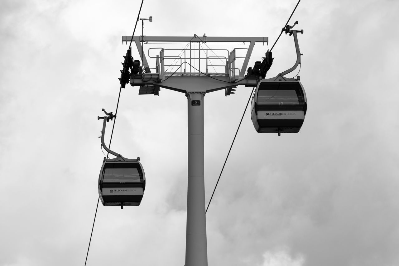 Cable Car Black & White Black And White Blackandwhite Sky And Clouds Cityscapes City Life Blackandwhite Photography Bnw Eye4photography  Minimalism EyeEm EyeEm Best Shots EyeEm Bnw EyeEmBestPics Monochrome Minimal Minimalobsession EyeEm Gallery Taking Photos at Parque Das Nações Portugal
