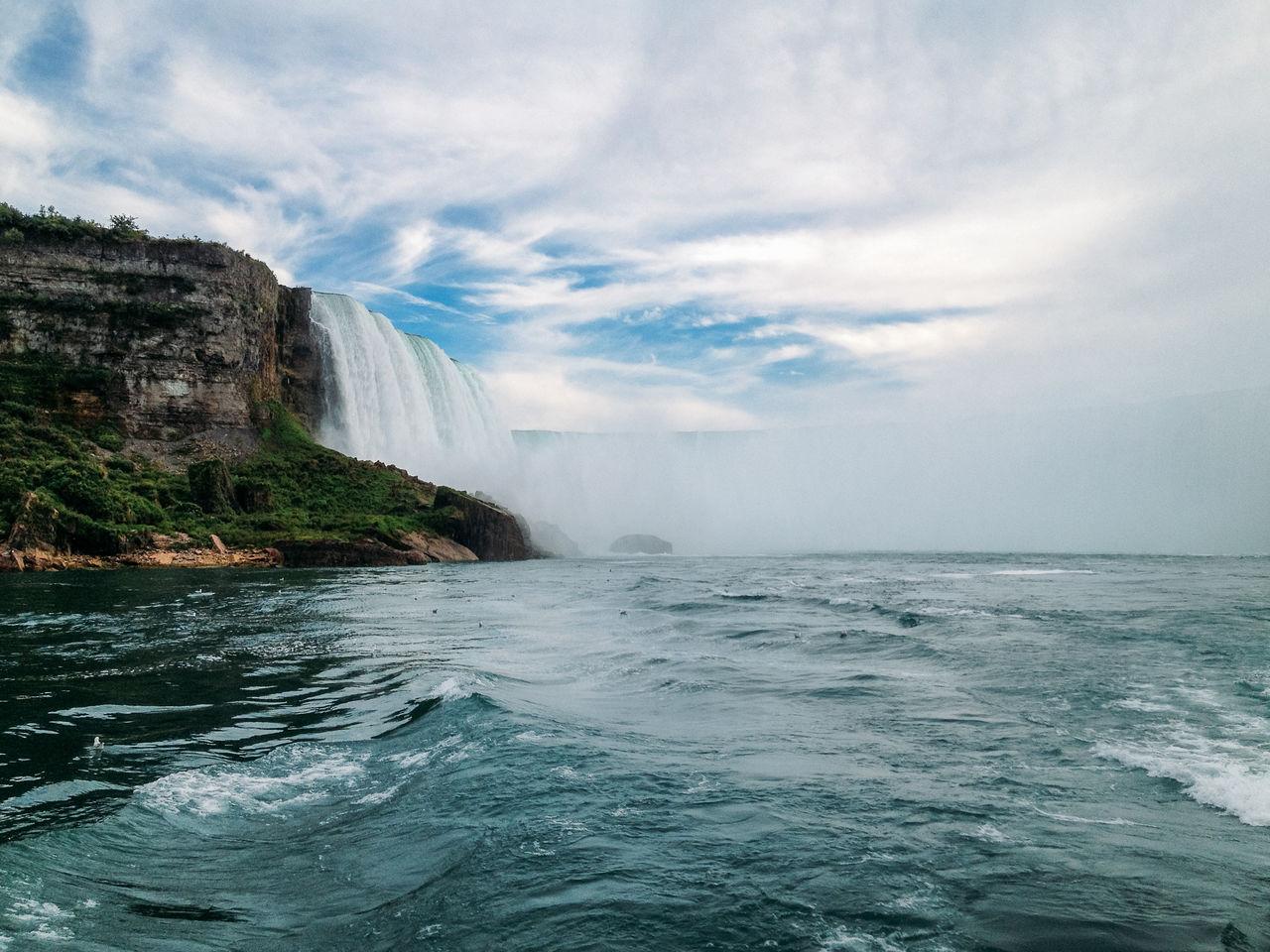 Beautiful stock photos of niagara falls,  Awe,  Beauty In Nature,  Cloud - Sky,  Day