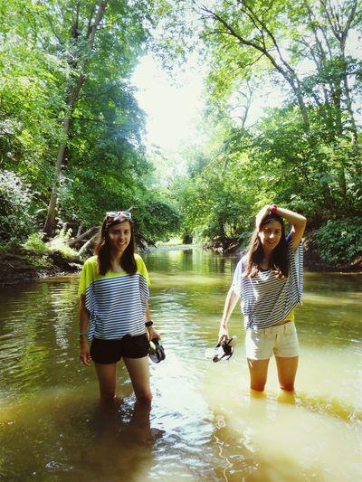 Eureka City Water Fooling Around Splash Twins Fun