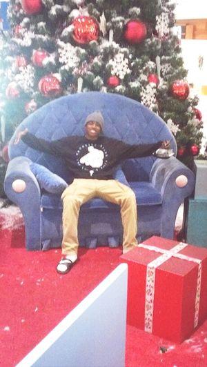 Chillin In Santa's Seat.