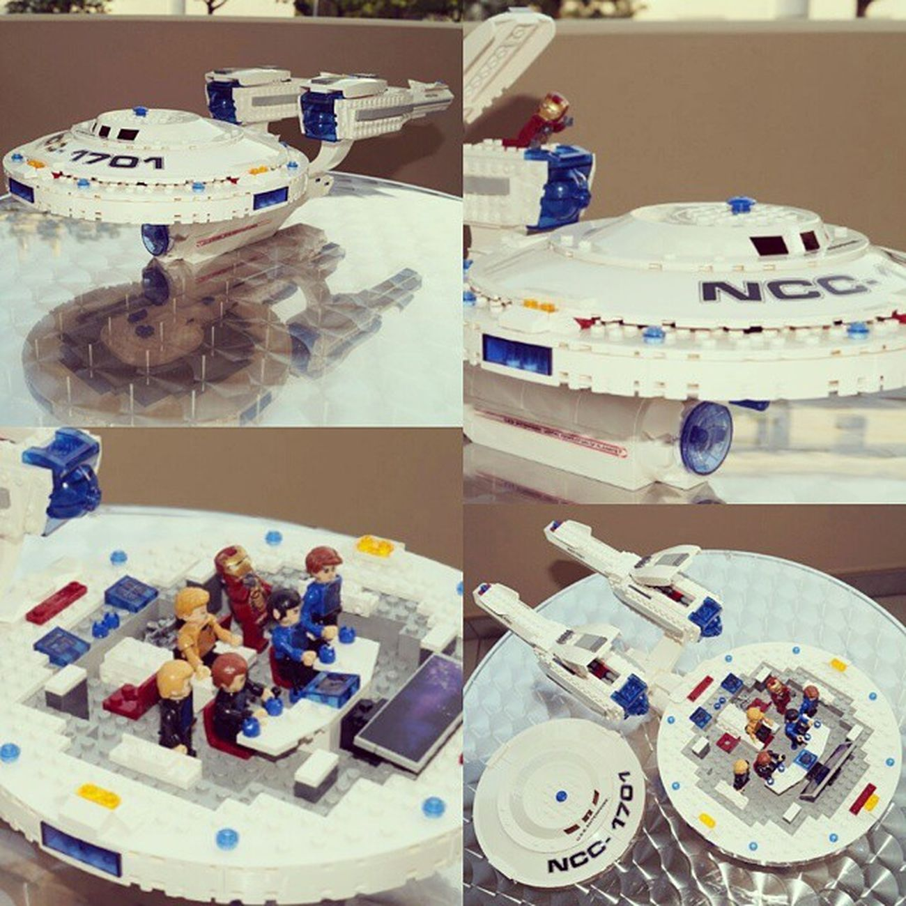 Utopia Planitia SpaceShip dockyard news: Yes, I must admit that I'm a Trekkie for decades. For this awesome shizzle it's excused for not being lego. hasbro kreo scifi bricks rules new toy Uss Enterprise NCC1701 kirkspock mccoy , 2 always dying extra artists . Ironman gene roddenberry to boldly go where no one has gone before ... live long and prosper out there