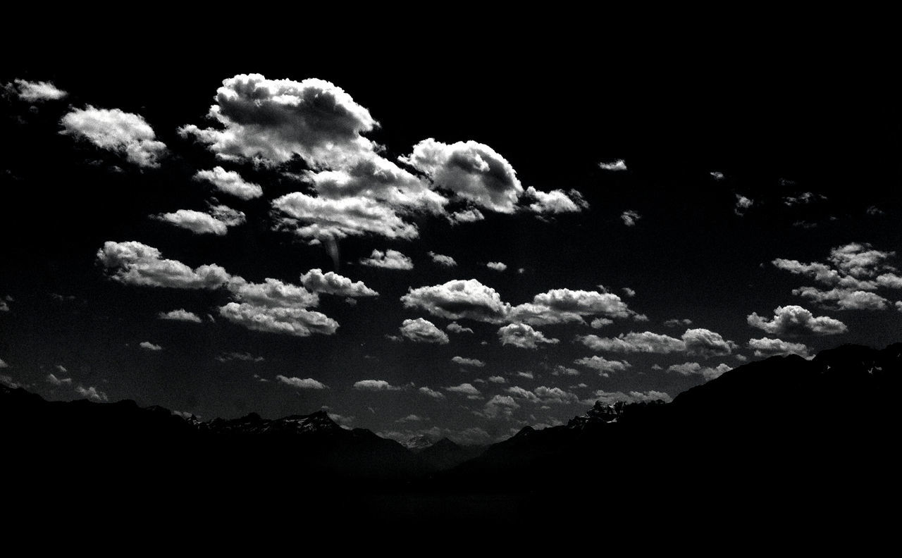Atmosphere Atmospheric Mood Beautiful Beauty In Nature Cloud Cloud - Sky Cloudscape Cloudy Dramatic Sky Glowing Moody Sky Mystery Night Clouds Nightclouds Silhouette Sky Softness Sunset