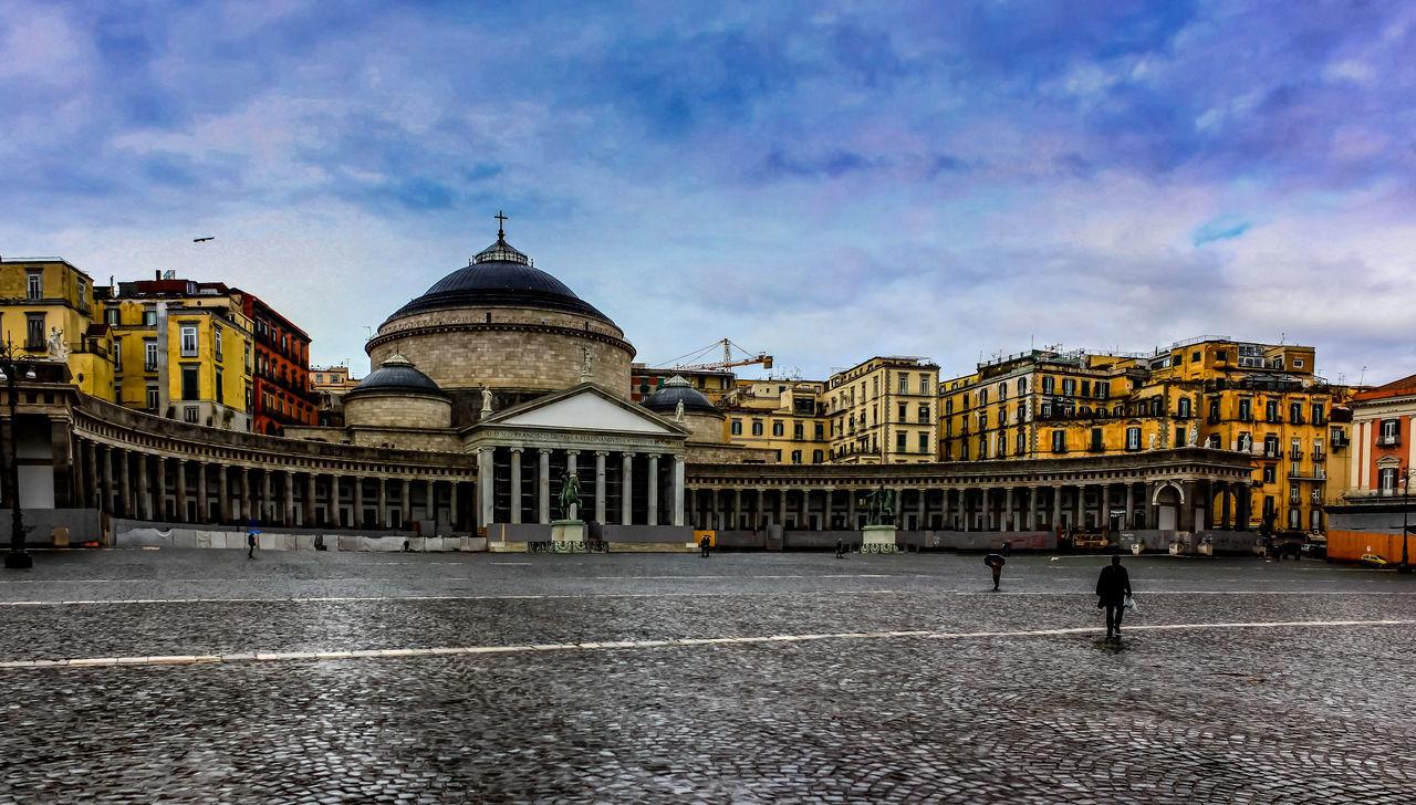 Piazza del Plebiscito Italy Napoli Napoli Italy Piazza Street Streetphotography Tourism Tourism Destination