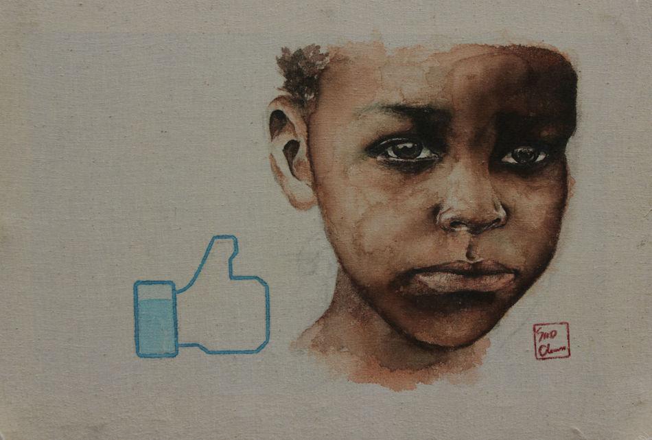 Donation Savethechildren  Painting Esedy