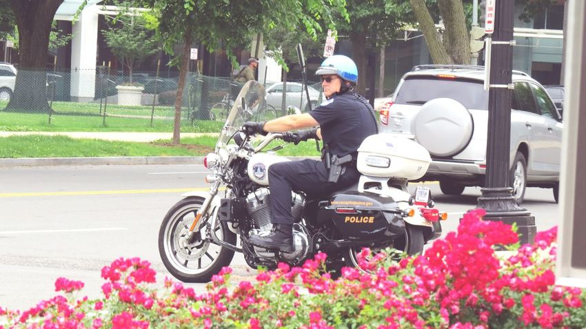 Cop style! Nexus6pcamera Cops Waiting For Some Disturbance Cops Policeman Strict Law Cool Shades Bikes