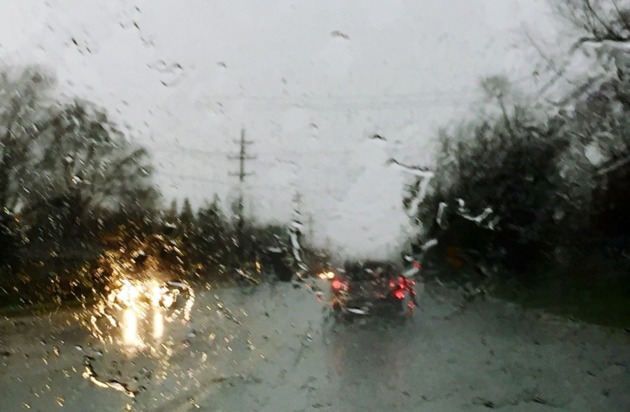 car, transportation, land vehicle, glass - material, rain, weather, wet, mode of transport, rainy season, window, windshield, road, car interior, no people, drop, raindrop, water, winter, day, indoors, snow, nature, close-up