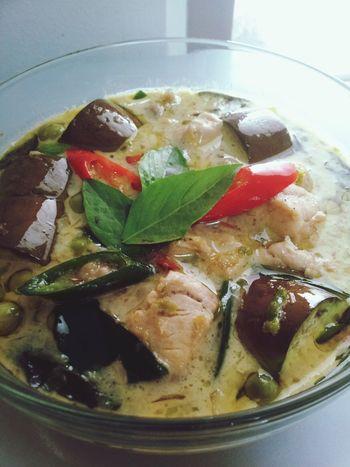 เสร็จแน้ววว..กว่าจะเสร็จหิวจนตาลาย Made By My Mom Thai Green Curry