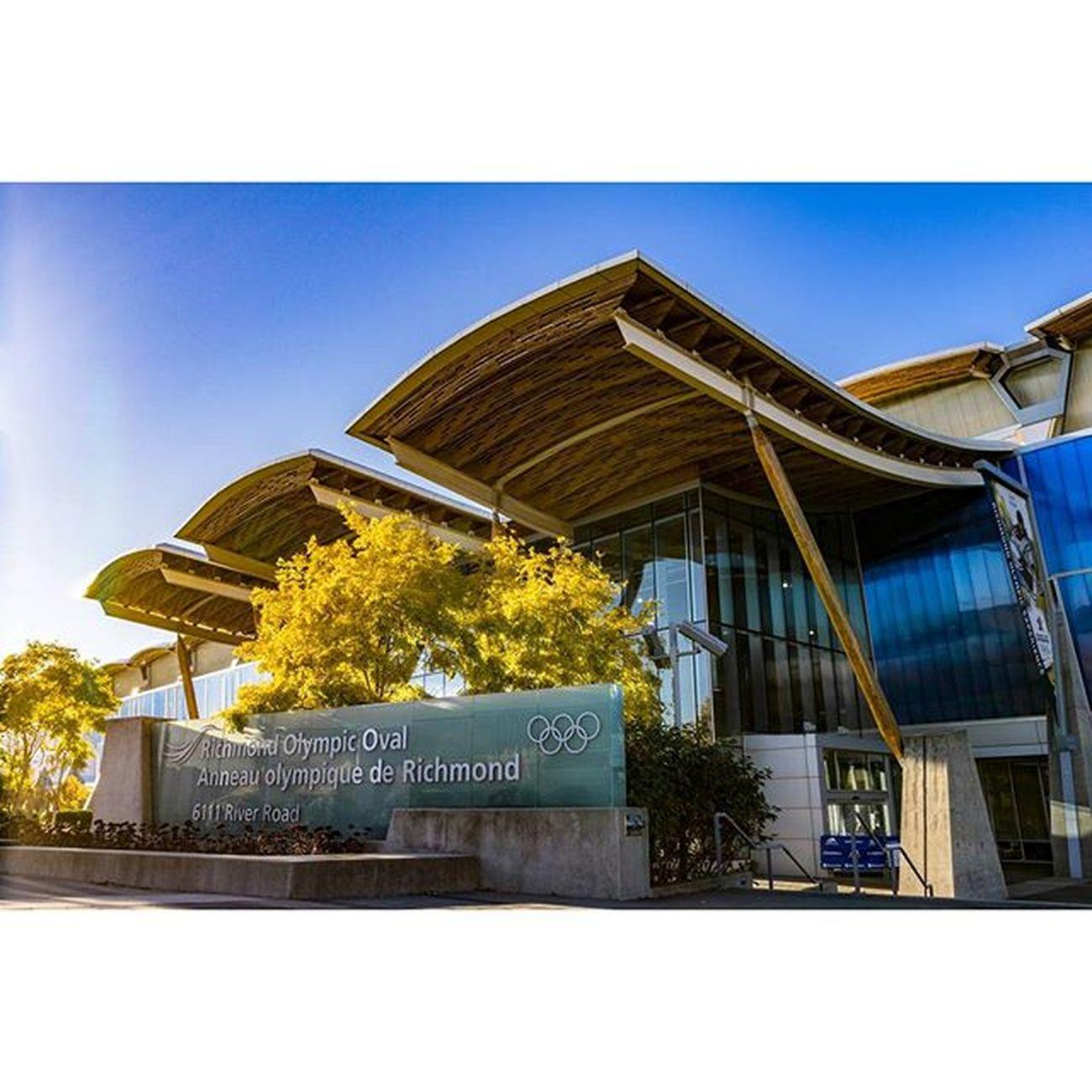 Home away from home. Oval Richmondoval Richmondolympicoval Richmond vancitybuzz vancouver gym landscape photography
