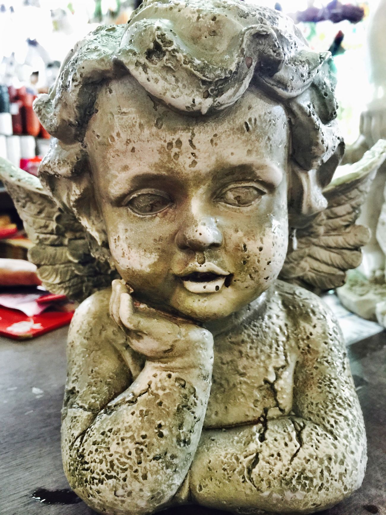 Angels Angelic Statue Creepy Haunted