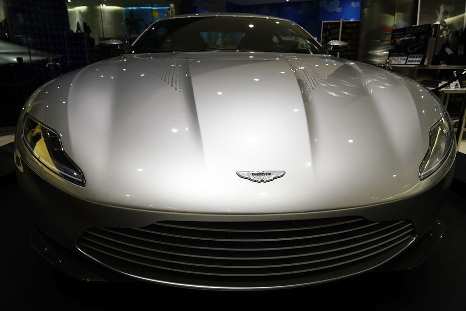 Dubai Mall Aston Aston Martin Bond Car Close-up Design Illuminated Indoors  James Bond No People Reflection