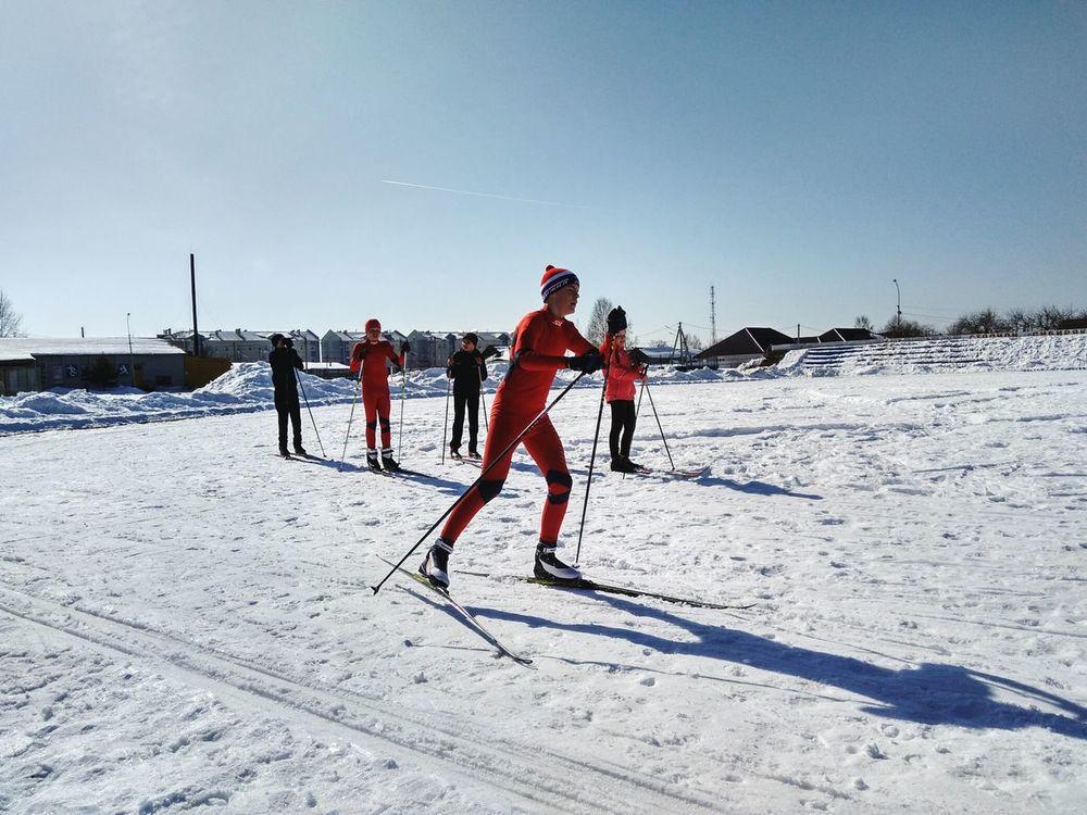 лыжники лыжи Школа соревнования  First Eyeem Photo