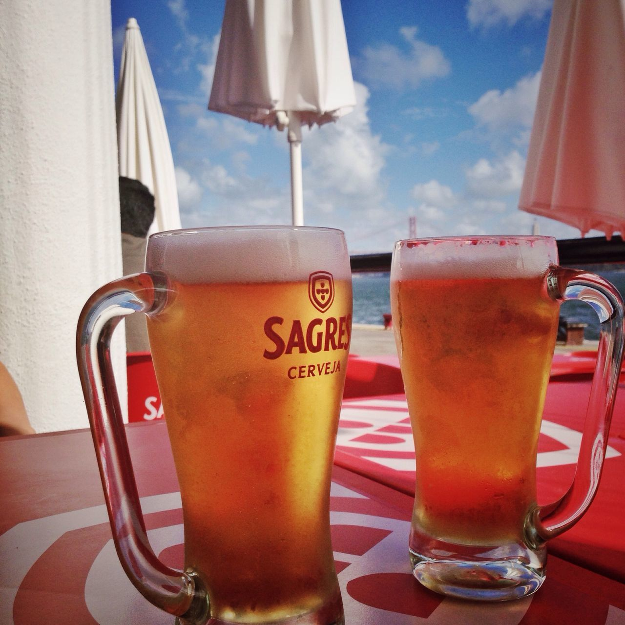 Portugal has exactly 2 kinds if beer . ;) Lissabon Beer