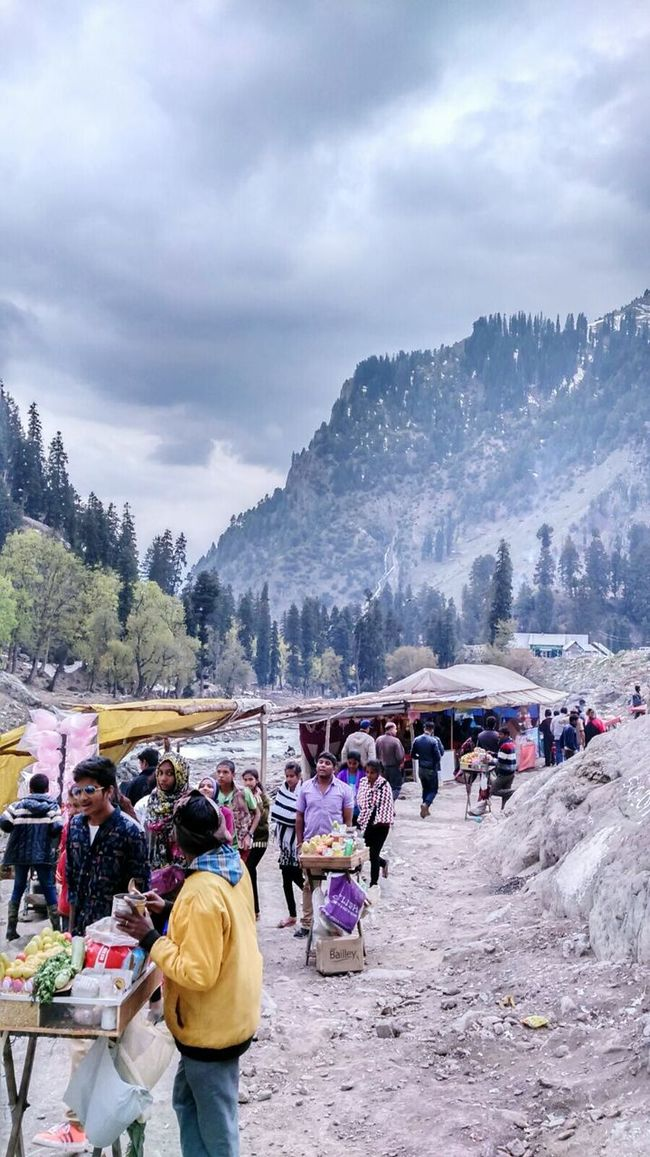 People And Places Large Group Of People Cloudy Mountain Tree Travel DestinationsLarge Group Of People Beauty In Nature Vacations Outdoors Kashmirdiaries Hobbies Nature Relaxation Crowd Beauty In Nature Scenics Leisure Activity Calm Srinagar Kashmir Men Person Leisure Activity Lifestyles Mountain