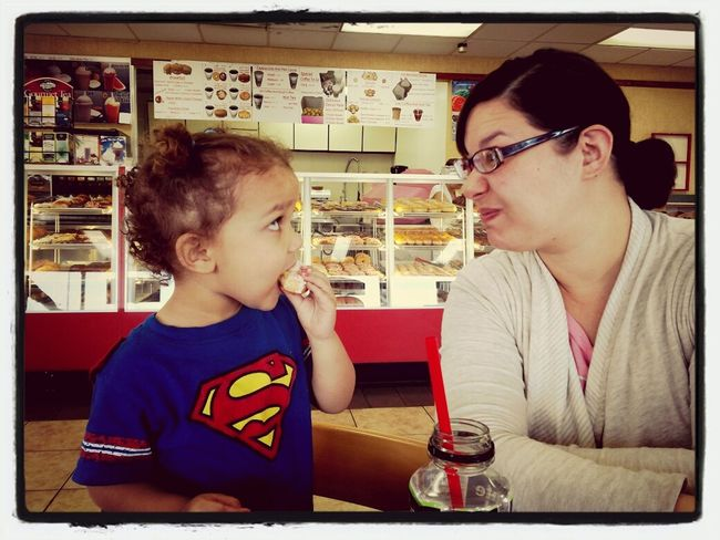 Daughter and Wife! And Donuts! Donuts Save The World Donuts Family Matters