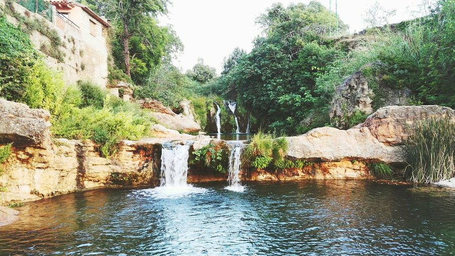 Water Tree Day Outdoors No People Travel Destinations Waterfall Pool Nature