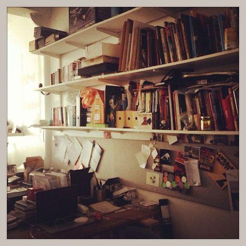 One Day at the Office of Mat Fowler aka Playarea aka Creative Mind of Pointer Artwork #playarea #london #pointerart #curtainroad London Playarea Pointerart Curtainroad