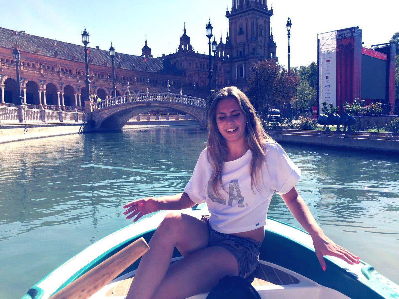 Best  Bdaypresent Ever Weekend Sevilla With My Boyfriend <3 Plaza De España