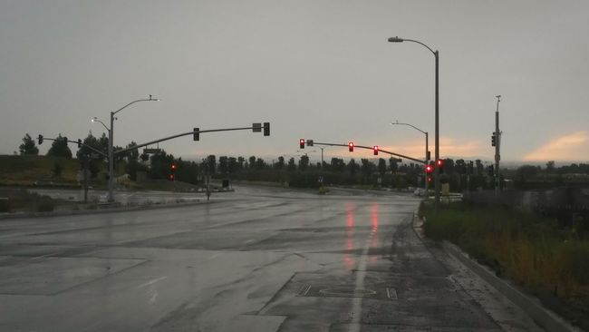 No People Outdoors Panoramic Landscape Landscape_Collection Horizontal Rain Afternoon Light Rainy Sunday Rainy Sky Landscape Outskirts Of Town Irvine, California. Landscape_photography Downpour Stormy Skies Stormy Weather Streets Without People Streetphotography Street Photography Rainy Day Photography Weatherporn Wet Day Wet Streets Traffic Intersection Traffic Lights