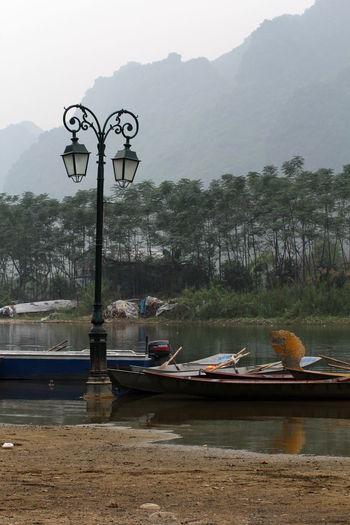 Boats Landscape Nature No People Outdoors Pier Ben Duc Water