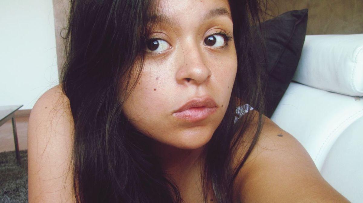 Girl Sexylook Moles Lunares Random That's Me Lips Beauty Taking Photos Selfie