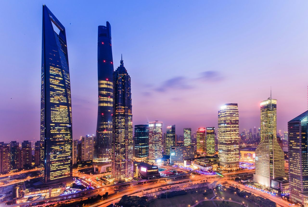 Beautiful stock photos of shanghai, Architecture, Building, Building Exterior, Built Structure