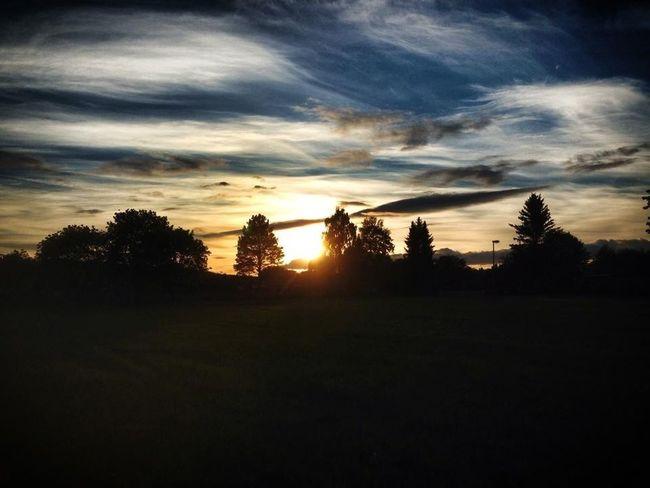 Yesterdays night sky ;) ... A june summernight .. <3 love them... Borlängeourway Dreaming June Whit My Love <3