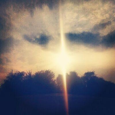 Sunset Clouds Raining Sunshine mixed albateen uae abudhabi ♥