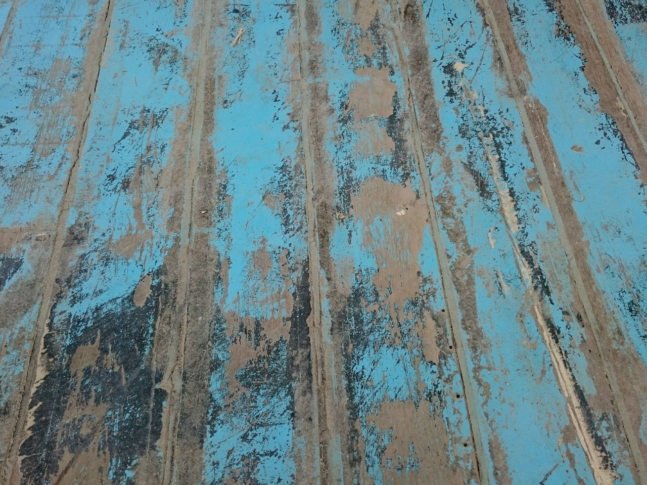 Backgrounds Full Frame Pattern Textured  Day Close-up No People Outdoors Sky Nature Blue Wood Used Ship Floor Structure