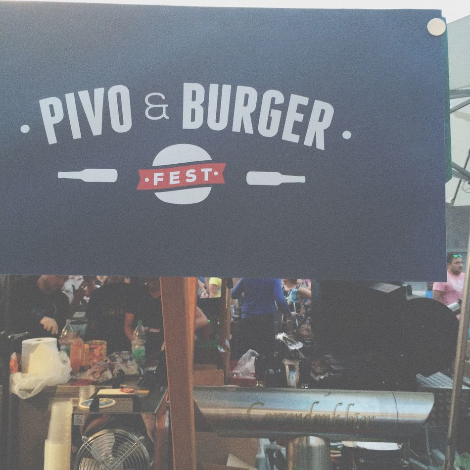 Pivo & Burger fest. Started at 6pm. Fun night with ton of beers again and burger! Meeting up with new friends! Pivo Burger Chilling Pub Slovenia Ljubljana Beer