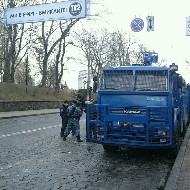 112 чи 102? Revolution Ukraine Police Represion