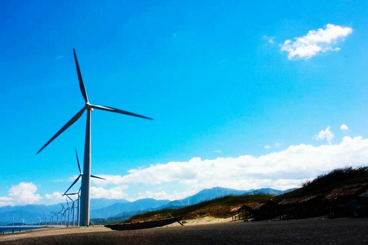 Bangui Windmills Wind Turbine Wind Power Renewable Energy Rural Scene Nature Environmental Conservation Alternative Energy