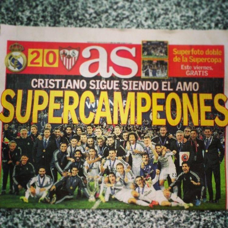 SuperCampeones Realmadrid 2014 Supercopa
