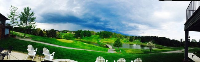 Edge Of The World 19th Hole Relax Storm Rolling In