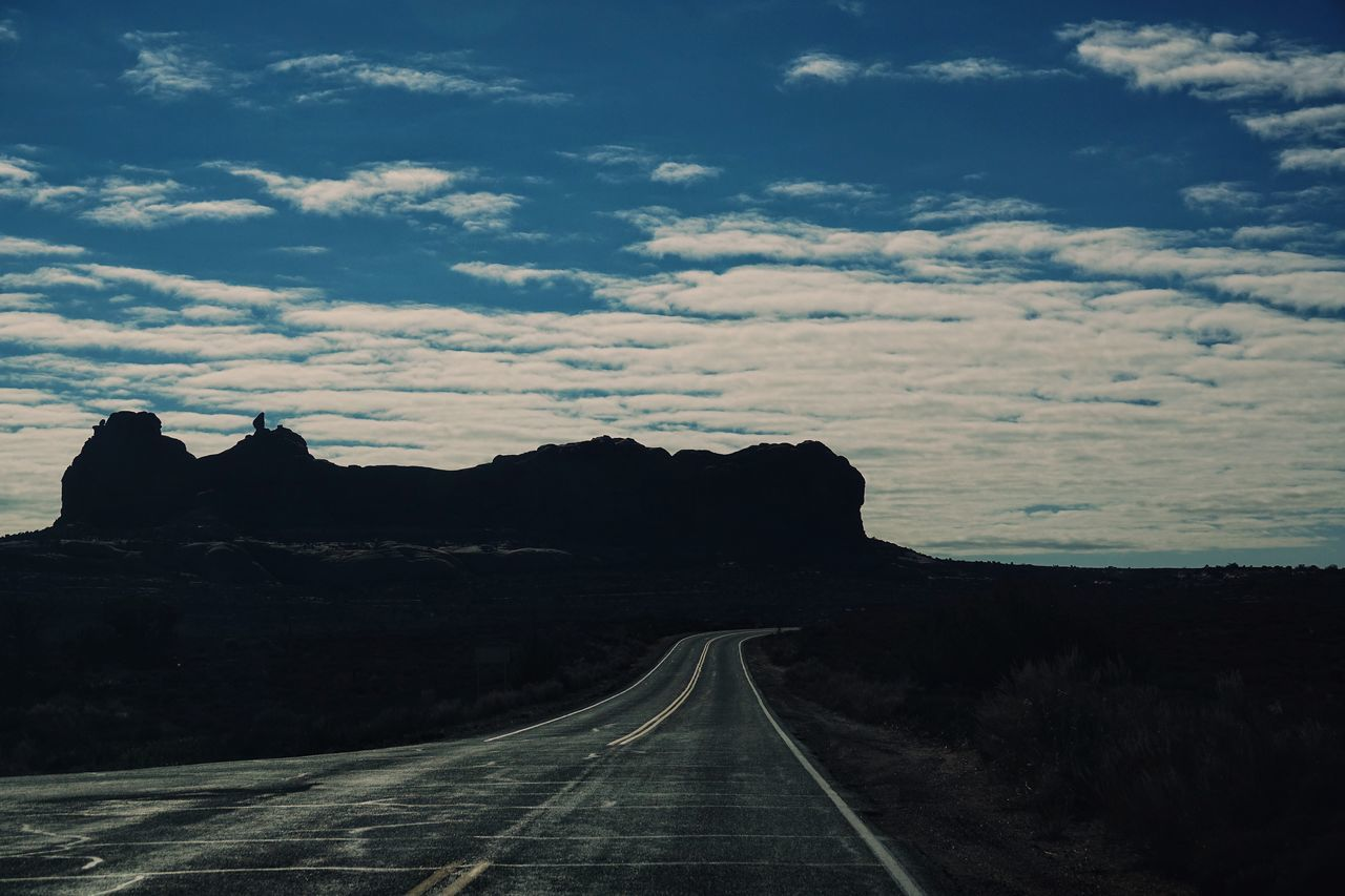 USA Photos Mountain Range Natural Arch The Way Forward Road Road Trip Geology Rock Formation Landscape Tranquility Travel Destinations Travel Mountain Adventure Scenics Outdoors Cloud - Sky Journey No People Sky Day Nature Desert Beauty In Nature Streamzoofamily