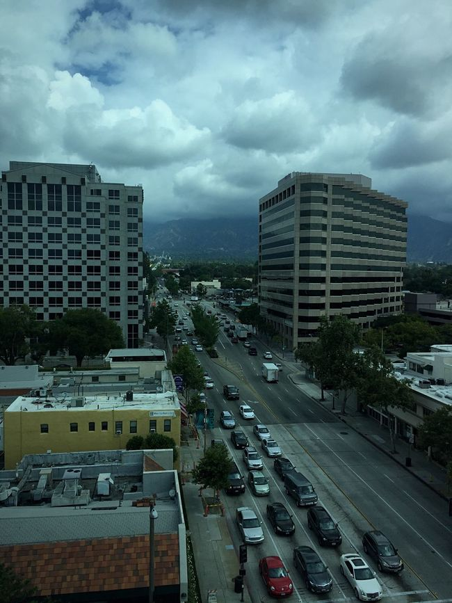 Cityscapes City Life Traffic Beautiful View Mountains And Sky Mountains View From Above Looking Down