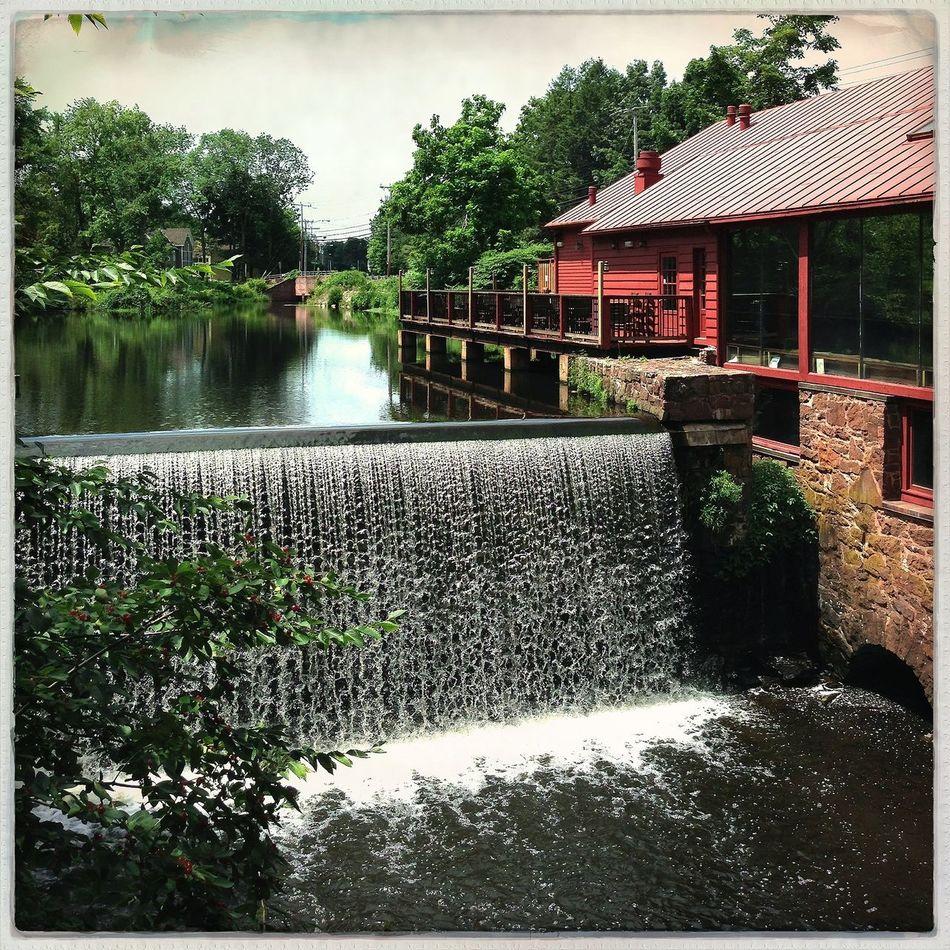 Relaxing Water Fall Countryside River