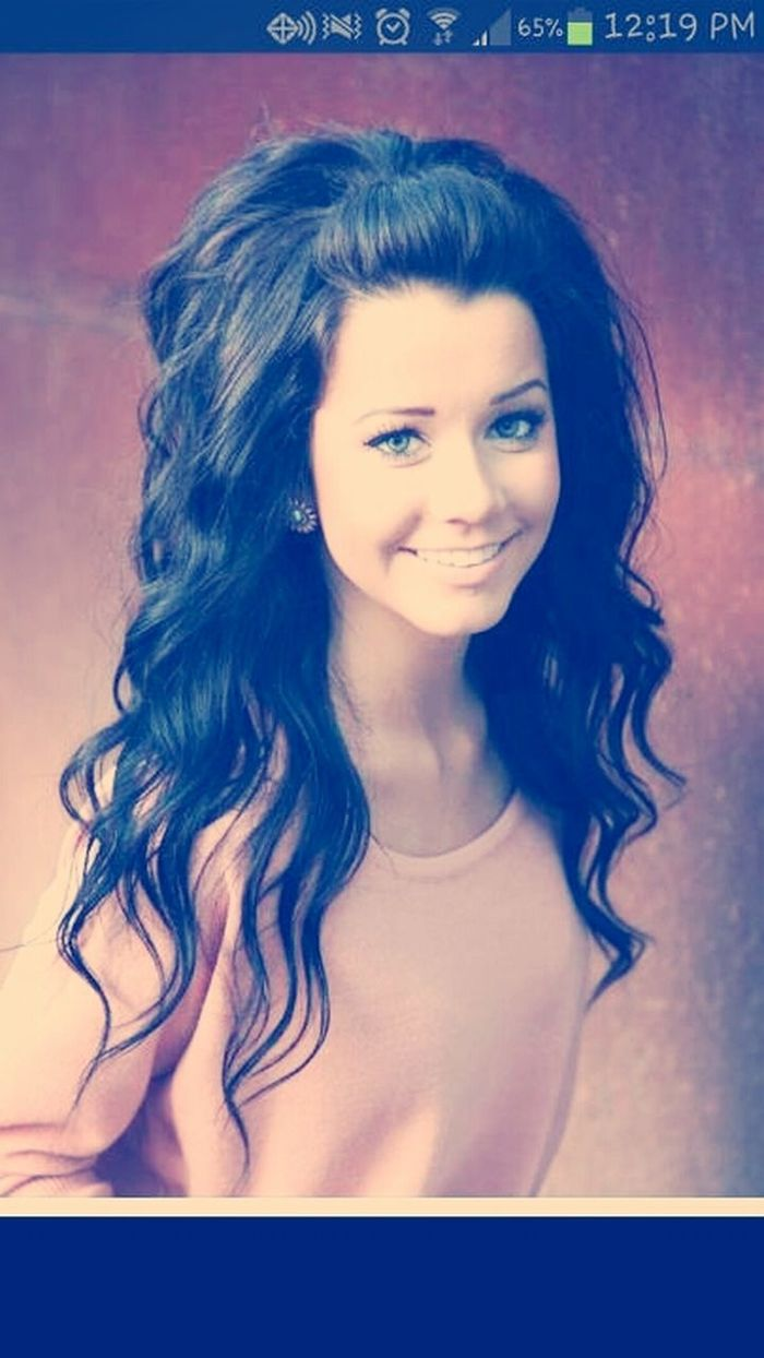 what my hair is going to look like once it gets long!