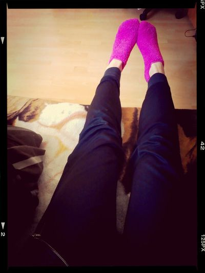 hahahhaha mama fajne skarpetki Socks Legs Pink
