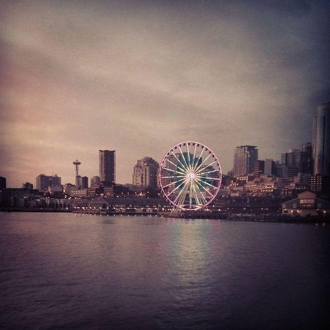 Just got into Seattle then late tonight headed on a BlackUmbrella Adventure Roadtrip