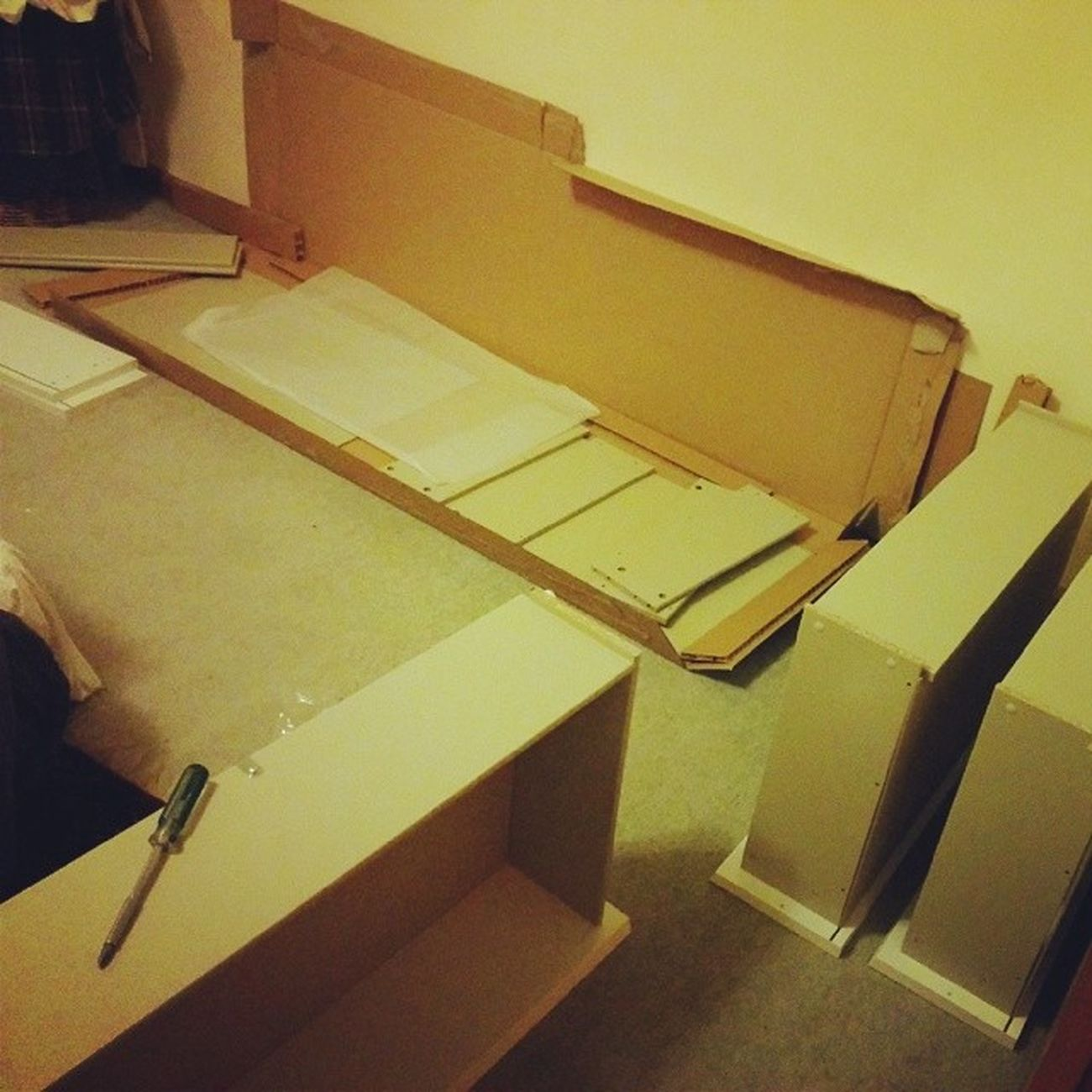 Today is FriDIY . Chest o' six drawers coming right up. IKEA Malm .
